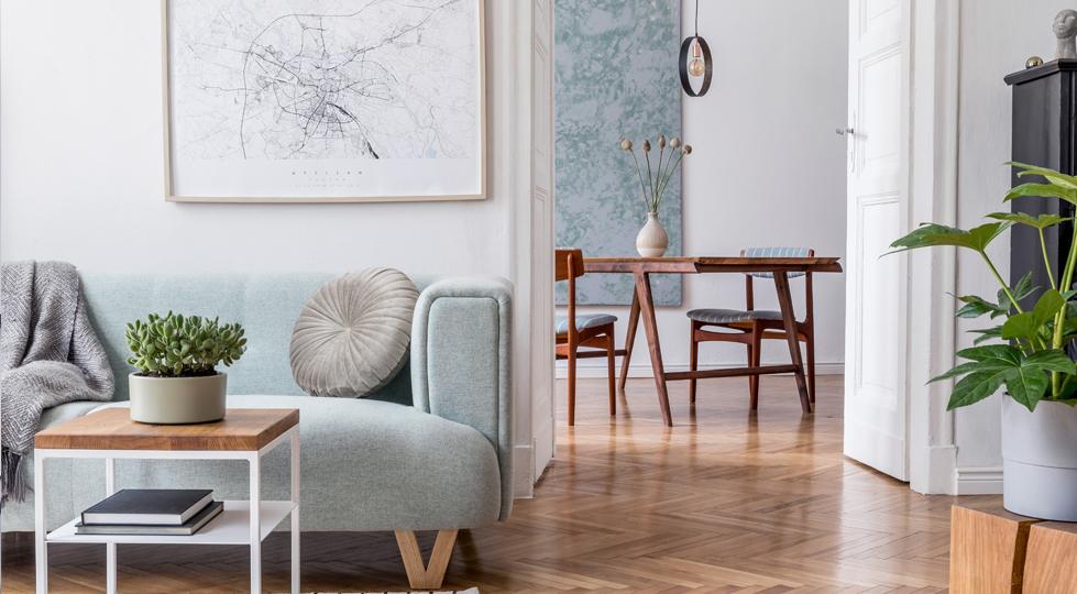 (image) intérieur d'appartement décoré