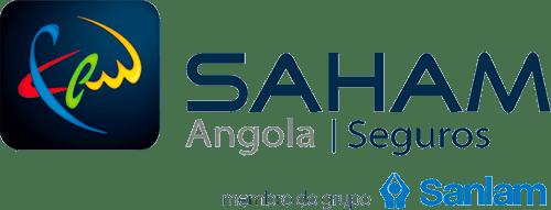 Logo entreprise saham angola