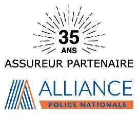 Logo partenariat Alliance Police Nationale 30 ans