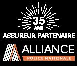 Logo partenariat Alliance Police Nationale 30 ans petit